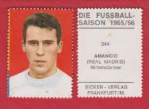 Real Madrid Amancio Spain 344